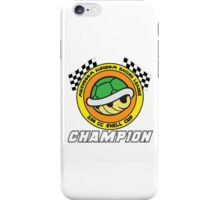 Shell Cup Champion iPhone Case/Skin