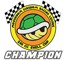 Shell Cup Champion Photographic Print