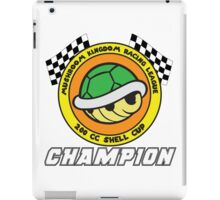 Shell Cup Champion iPad Case/Skin