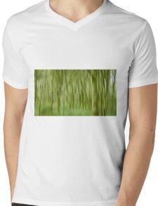 Impressionist Forest Mens V-Neck T-Shirt