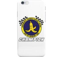 Banana Cup Champion iPhone Case/Skin