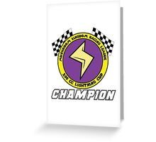 Lightning Cup Champion Greeting Card