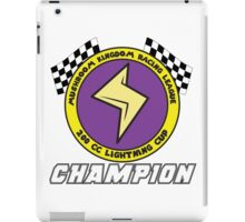 Lightning Cup Champion iPad Case/Skin