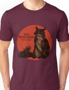 Sam cat - pre-Law and Hunter Unisex T-Shirt