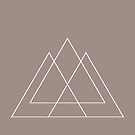 Mountains Geometric Design by T-ShirtsGifts