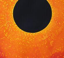 Black Hole Sun original painting Sticker