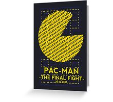 Pac Man Film Poster Greeting Card