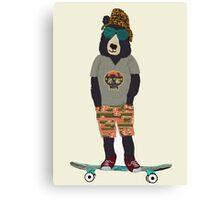 fudge bear Canvas Print