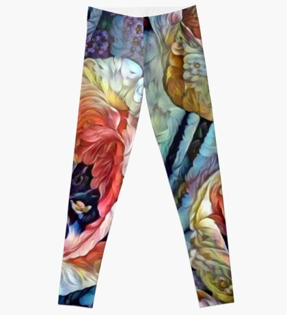 Blooming Tulips Leggings