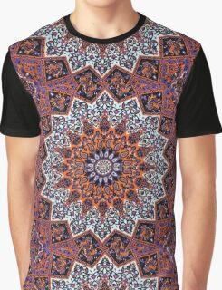 Indian Mandala Pattern Graphic T-Shirt