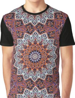 Indian Mandala Pattern Graphic T-Shirt
