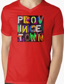 """Provincetown at Night"" Dave Hay • haydave.com Mens V-Neck T-Shirt"