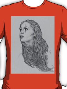 Last hope digital illustration of a young girl T-Shirt