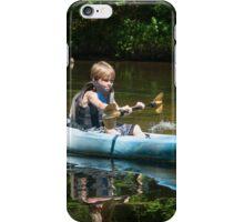 Kayaking Fun! iPhone Case/Skin
