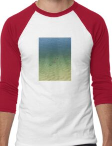 swimming ducks Men's Baseball ¾ T-Shirt