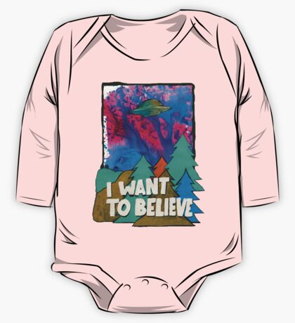 I Want To Believe One Piece - Long Sleeve