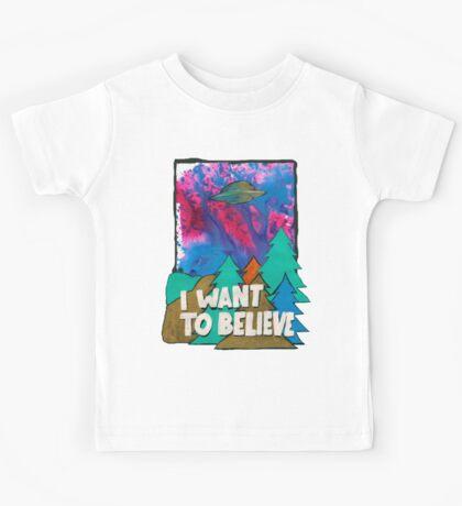 I Want To Believe Kids Tee