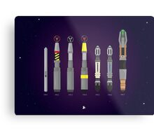 Sonic Screwdriver collection Metal Print