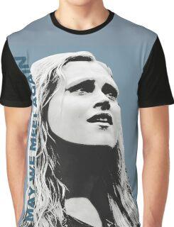 Clarke - The 100 - Minimalist Graphic T-Shirt