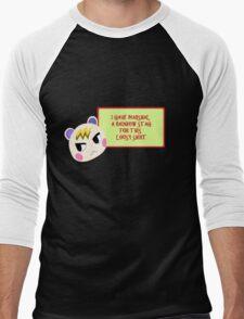 For a Lousy Marshal Men's Baseball ¾ T-Shirt