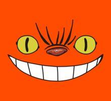 Catbus Cheshire Face Kids Tee