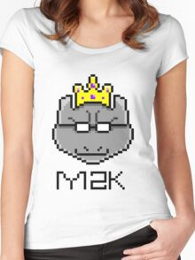 m2k Women's Fitted Scoop T-Shirt
