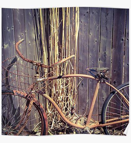 Vintage Rust Poster