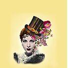 Steampunk Glamour Girl by Karin  Hildebrand Lau