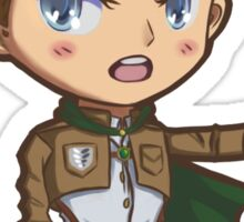 Erwin Smith Chibi Sticker