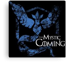 Team Mystic is Coming ( GoT + Pokemon GO! ) Canvas Print