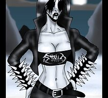 Black Metal Chick by Luke Kegley