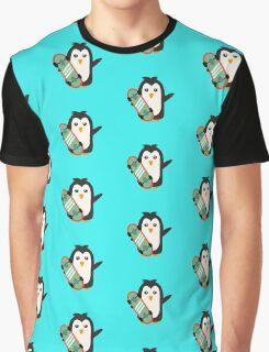 Skateboard Penguin   Graphic T-Shirt