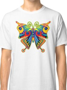 Pretty Colourful Butterfly Classic T-Shirt