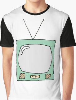 Retro TV Graphic T-Shirt