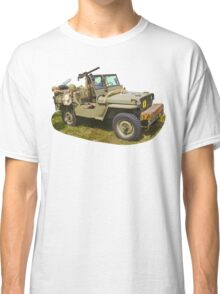Willys World War Two Army Jeep Classic T-Shirt