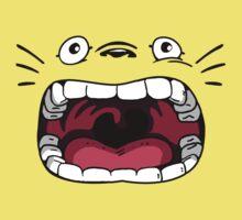 Totoro Ahhhhhh Face One Piece - Short Sleeve