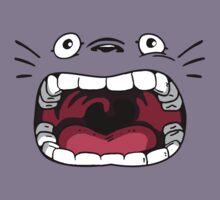 Totoro Ahhhhhh Face Kids Tee