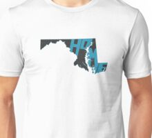 Maryland HOME state design Unisex T-Shirt