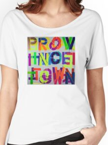 """Provincetown • Blue Sea"", Dave Hay,  haydave.com Women's Relaxed Fit T-Shirt"