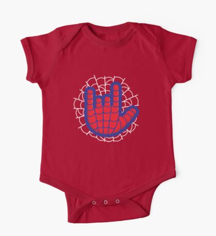 Spiderman Web-Love One Piece - Short Sleeve