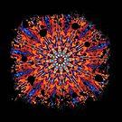 Psychedelic Splatter by Karin  Hildebrand Lau