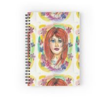 MissRed Spiral Notebook