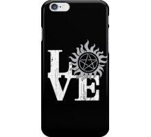LOVE Supernatural iPhone Case/Skin