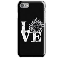 LOVE Supernatural iPhone Case/Skin