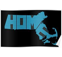 Massachusetts HOME state design Poster