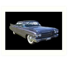 1960 Cadillac Luxury Car Art Print