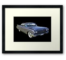 1960 Cadillac Luxury Car Framed Print