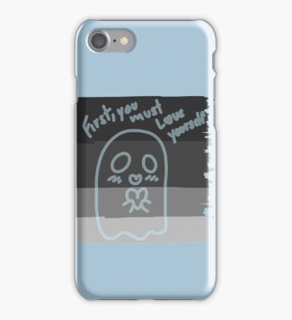 First you must love yourself iPhone Case/Skin