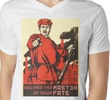 MASTERY Mens V-Neck T-Shirt
