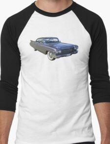 1960 Cadillac Luxury Car Men's Baseball ¾ T-Shirt